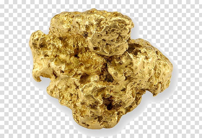 Gold nugget Chicken nugget Gold bar Oil, gold transparent.