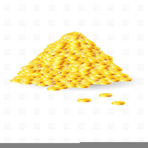 Gold Nuggets Clipart.