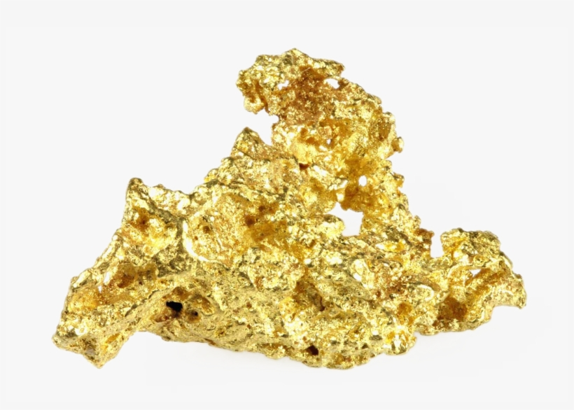 Gold Nugget PNG Images.