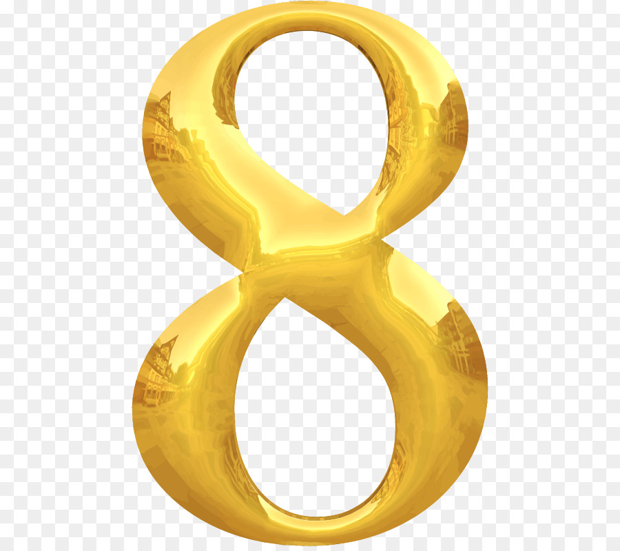 Gold Numbers clipart.