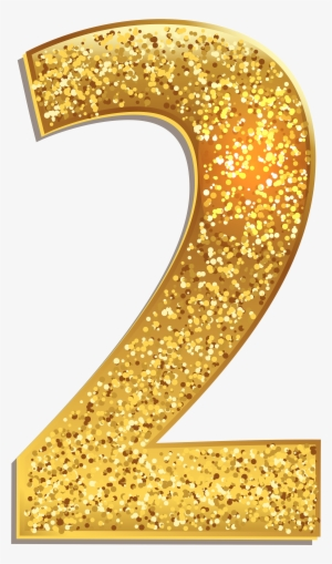 Gold Numbers Png PNG Images.