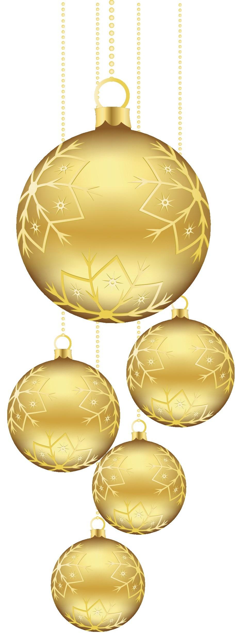 Gold christmas ornament clipart 3 » Clipart Portal.