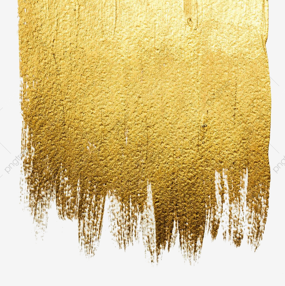 Gold Wall Paint, Wall, Break, Effect PNG Transparent Clipart Image.