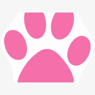 Cat Paw Print Image.