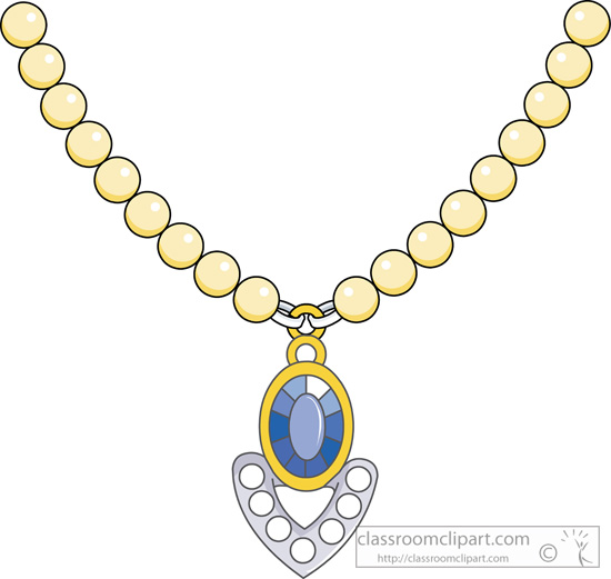 Necklace clipart #12