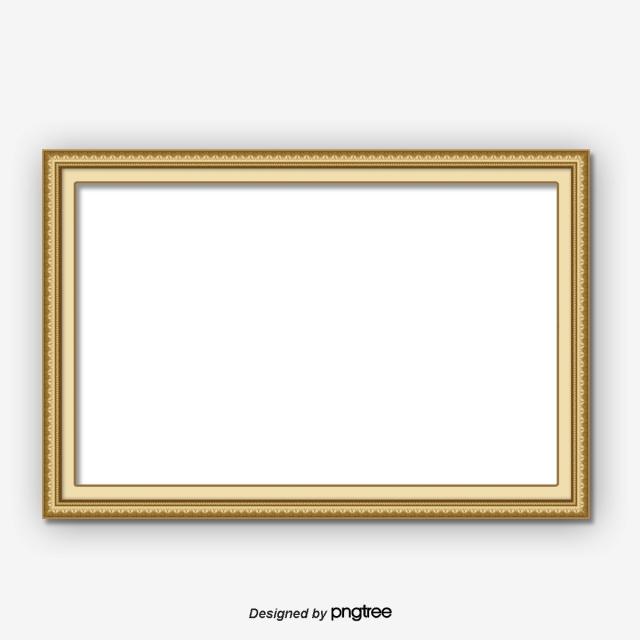 Gold Frame PNG Images.