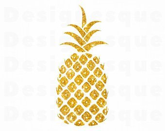 Gold pineapple clipart » Clipart Portal.