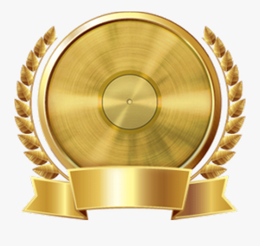 Gold Plaque Png.