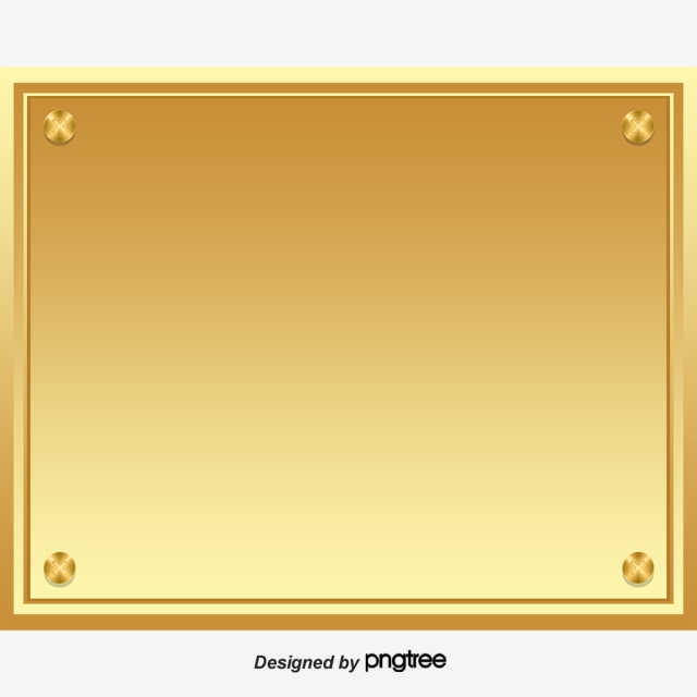 Plaque Png, Vector, PSD, and Clipart With Transparent Background for.