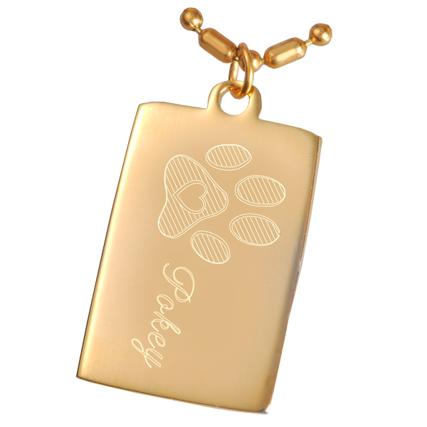 Chain Dog Tag Clipart.