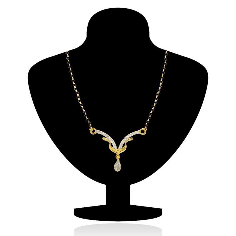 Gold mangalsutra designs clipart.