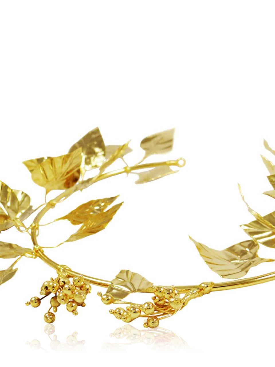 Ivy Wreath, Gold.