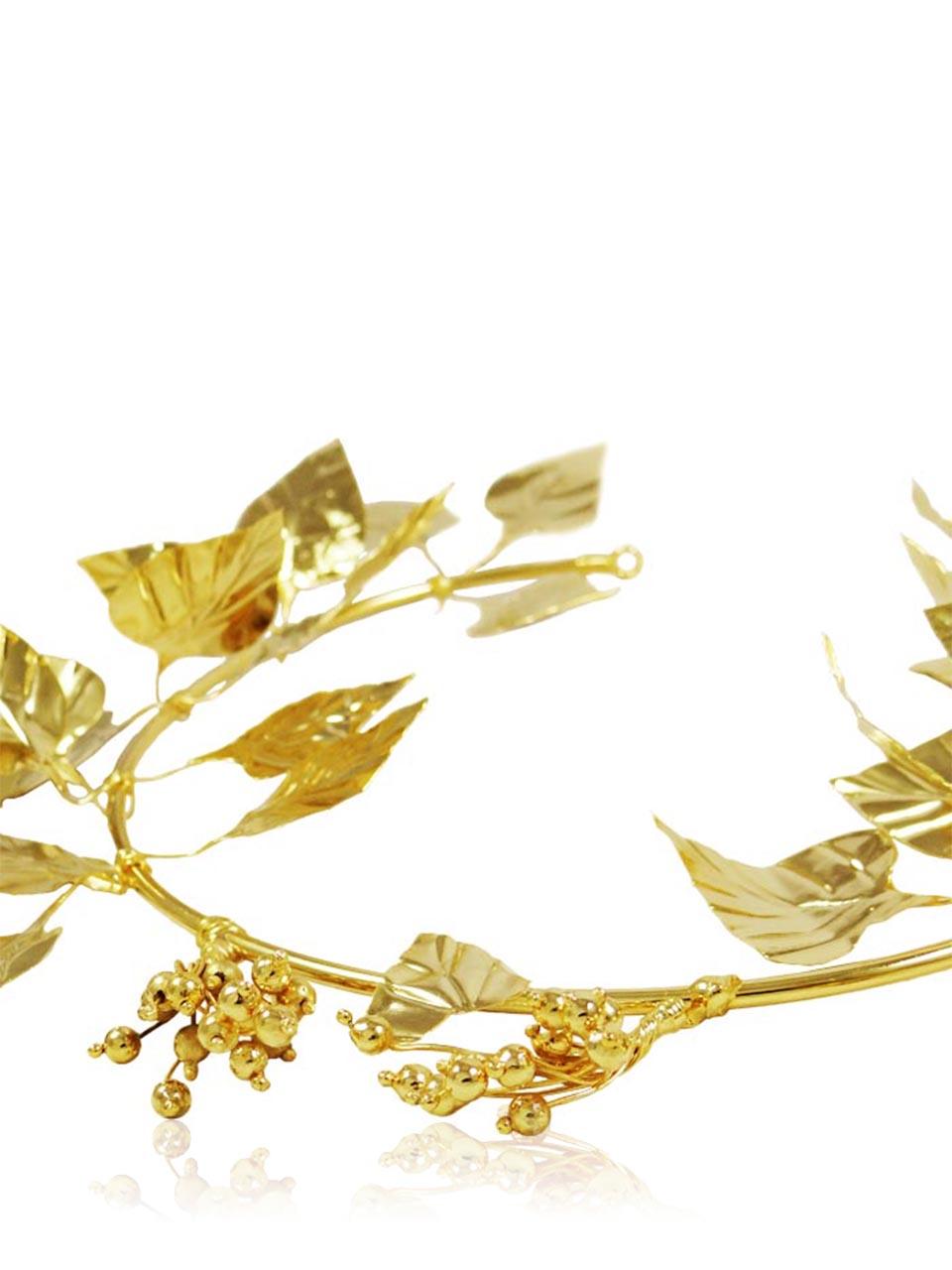 Ivy Wreath, Gold.