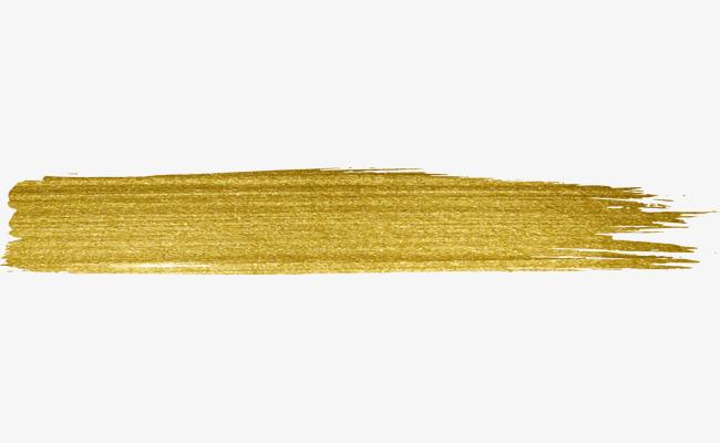 Gold Watercolor Paint, Watercolor Clipart, Paint Clipart, Golden PNG.
