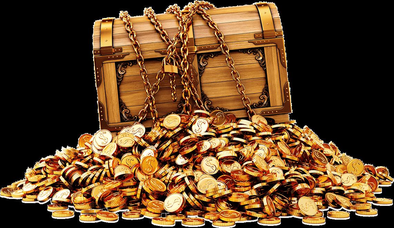 Treasure Massive Gold transparent PNG.