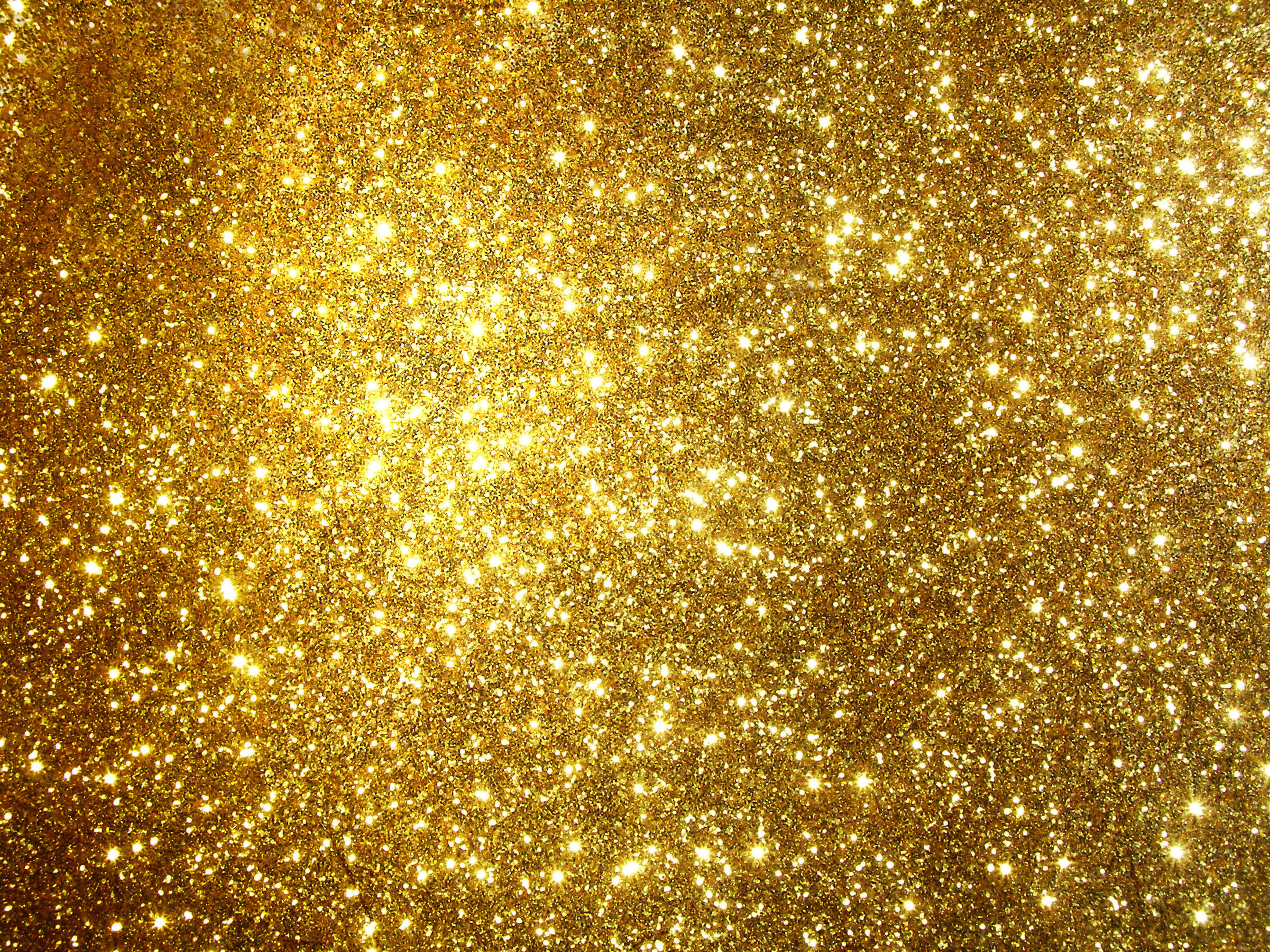 Glitter Gold Background.