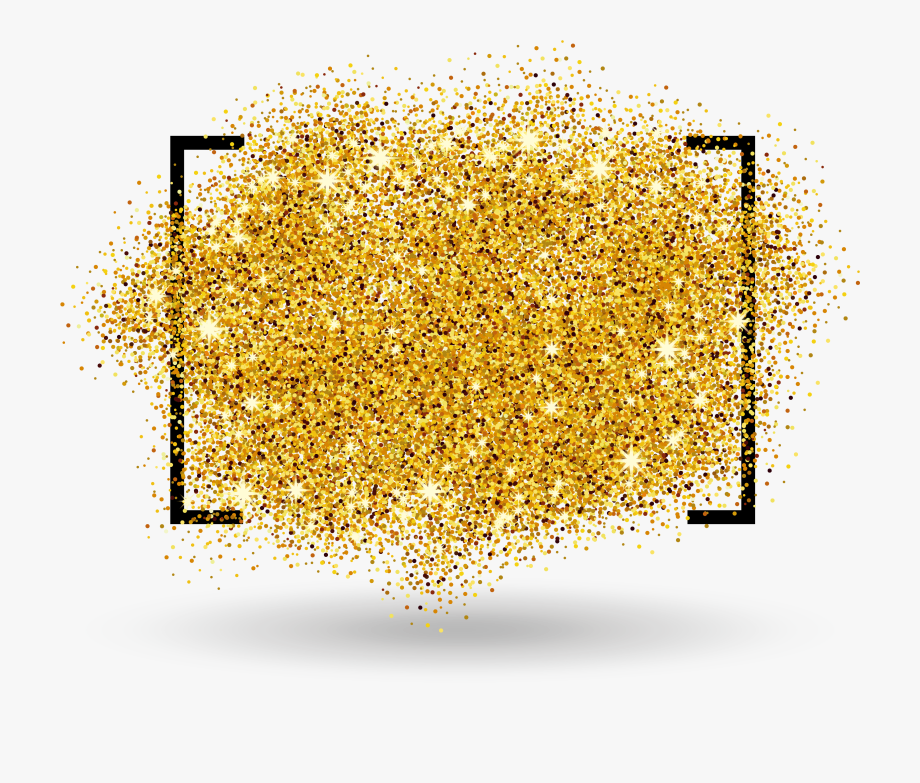 Golden Border Gold Free Transparent Image Hd.
