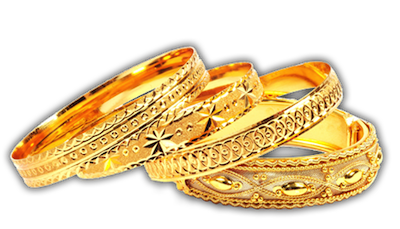 Gold Jewelry PNG HD.