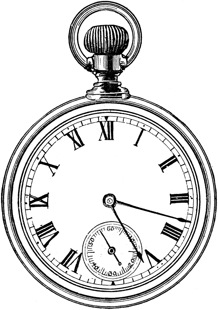 Pocket Watch Clipart#2081363.