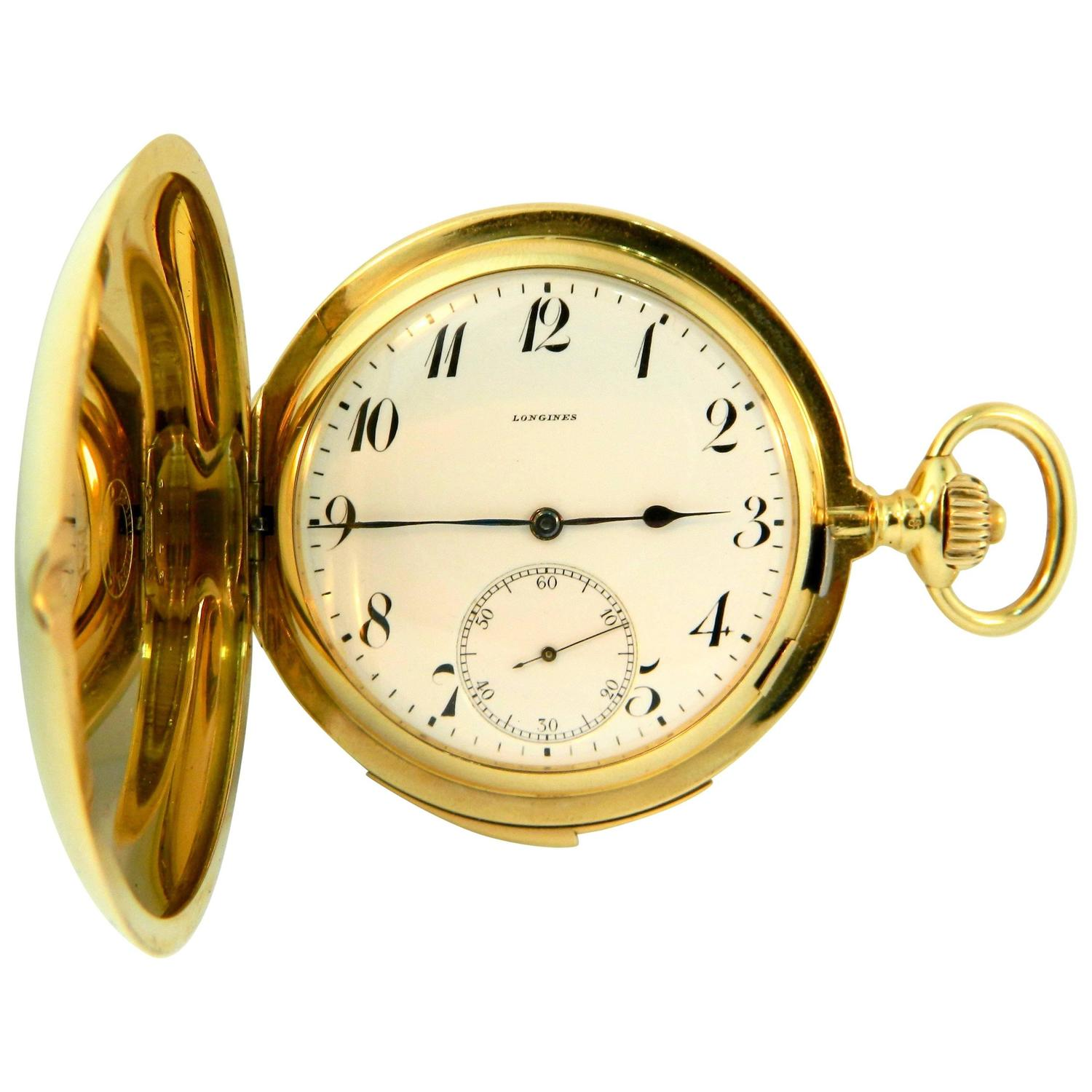 Pocket Watches Gold.