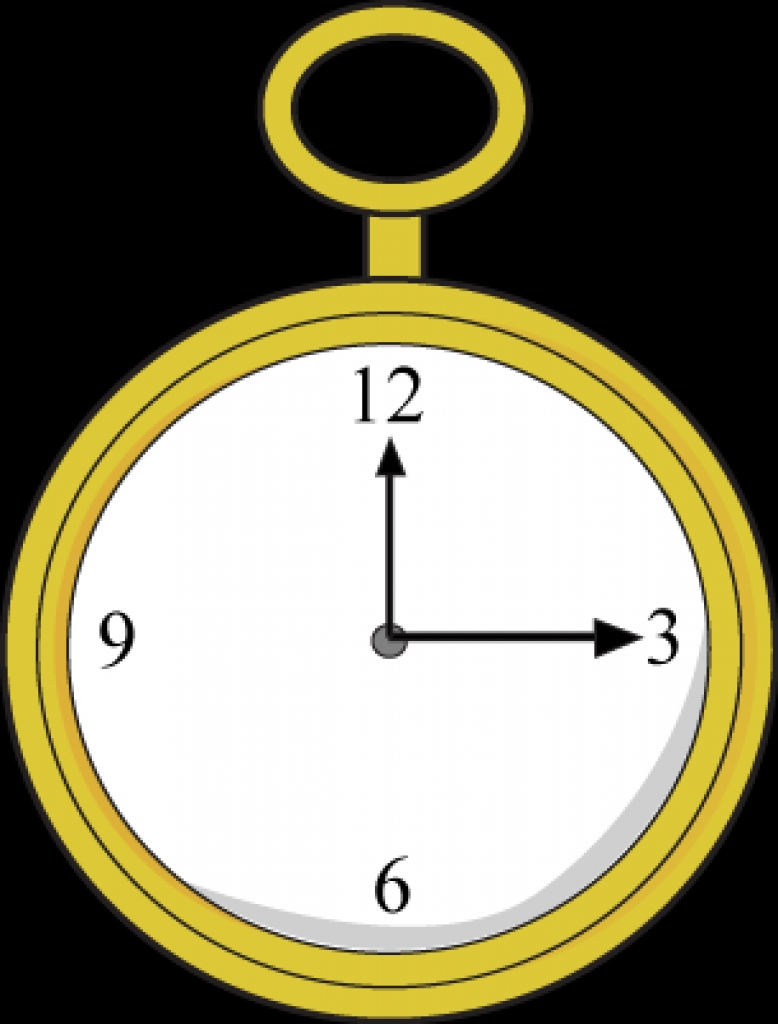 Gold Pocket Watch Clip Art Gold Pocket Watch ImageFree Download.