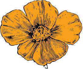 Similiar Gold Poppy Clip Art Keywords.