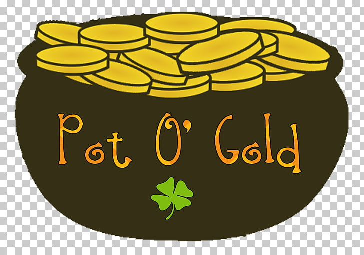 Cuisine of the United States Gold , gold pot PNG clipart.
