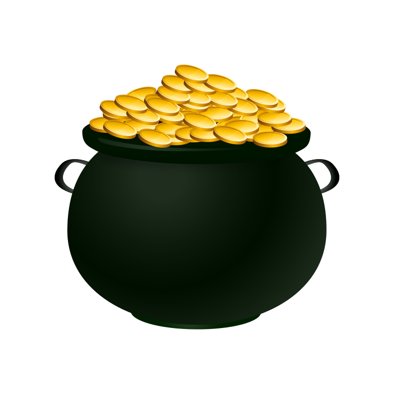 Free Clipart: Pot of Gold.