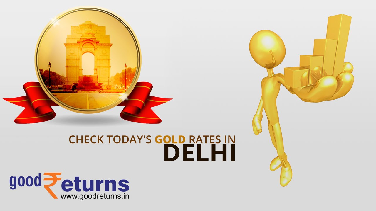 Todays Gold Rate in Delhi, 22 & 24 Carat Gold Price on 3rd.