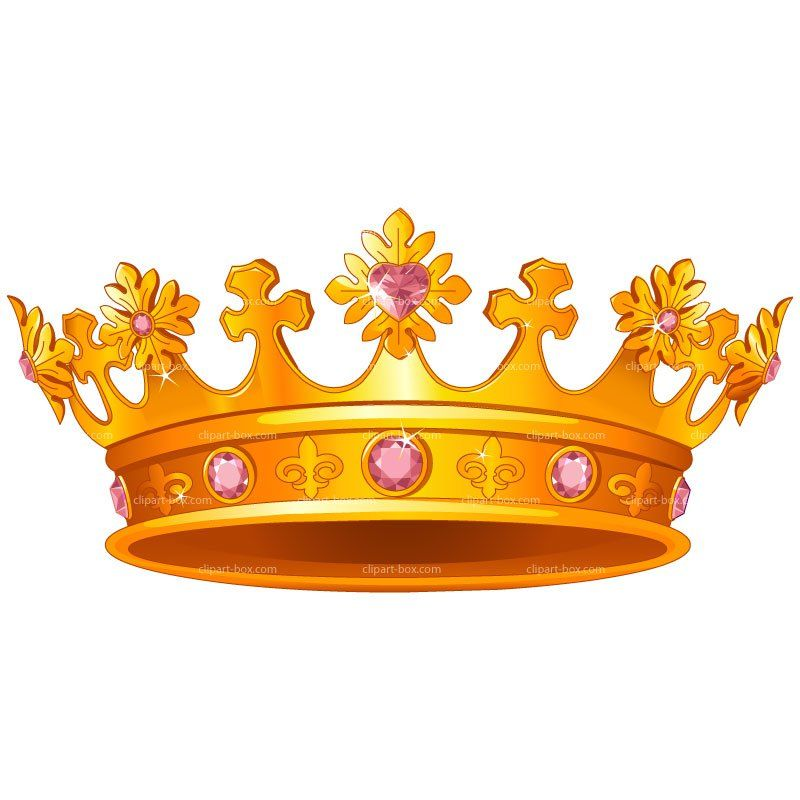 Gold Queen Crown Clipart.