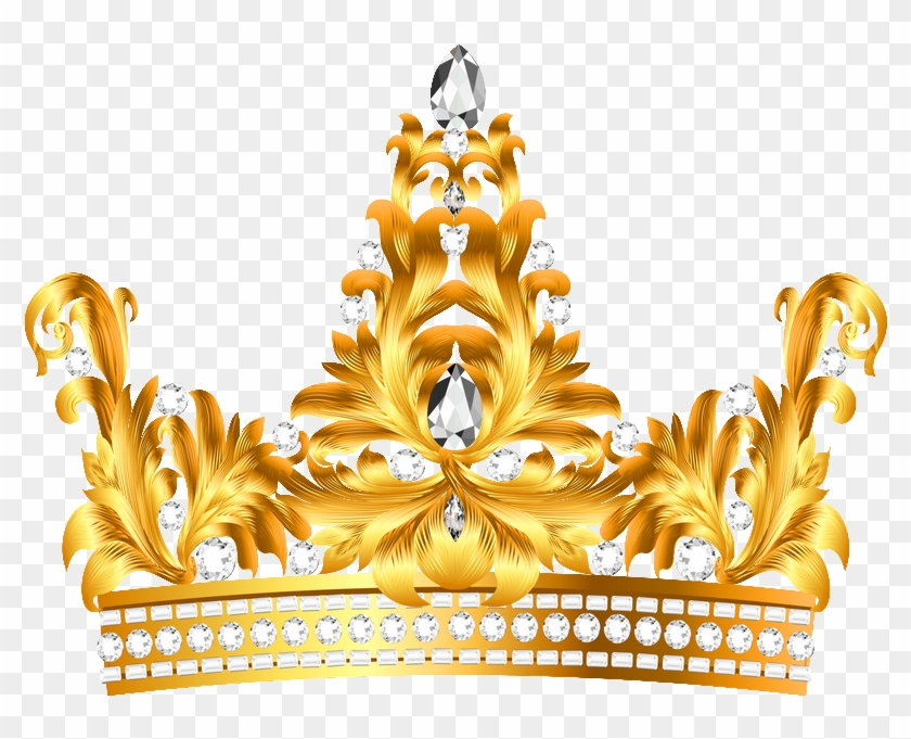 Download Gold And Diamonds Crown Clipart Png Photo.