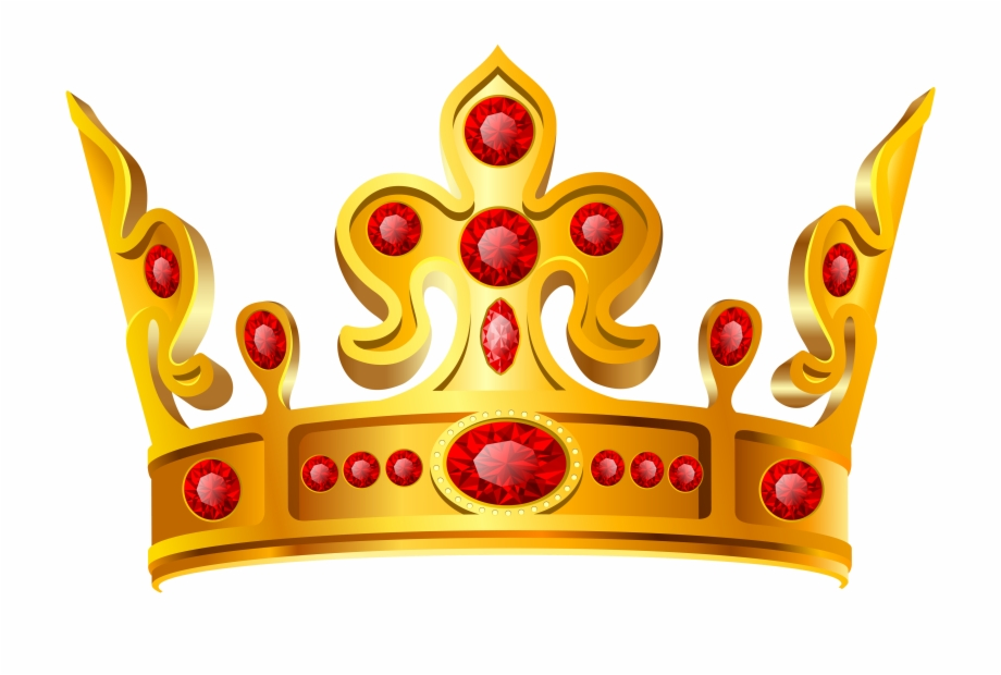 Princess Crown Gold Png.