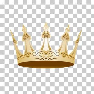 Gold Queen Crown Logo.
