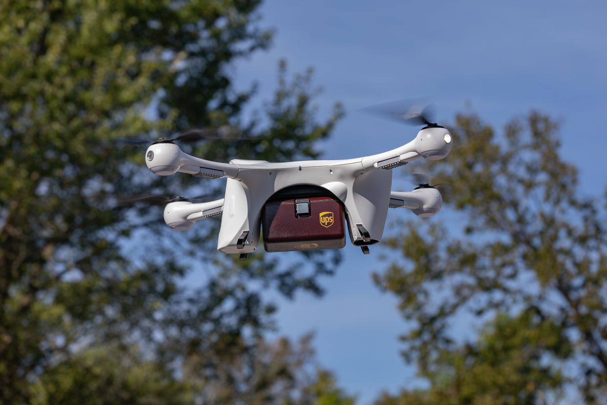 UPS delivers prescription medications to US homes by drone.