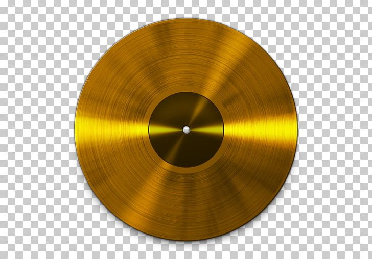 Phonograph Record Music Recording Sales Certification Gold.