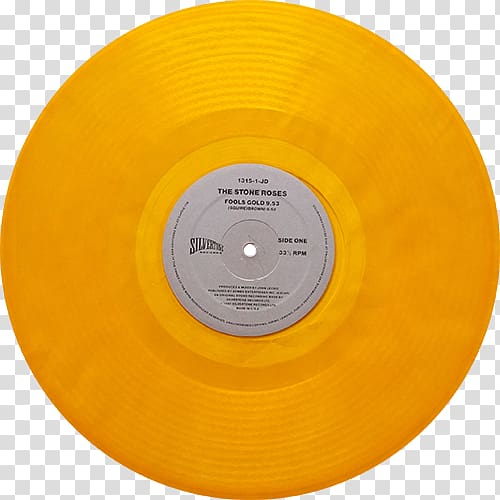 Compact disc Fools Gold The Stone Roses Phonograph record LP.