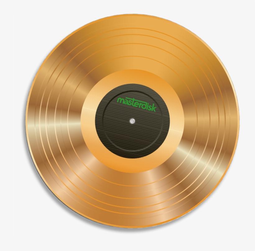 Masterdisk Gold Record Transparent.