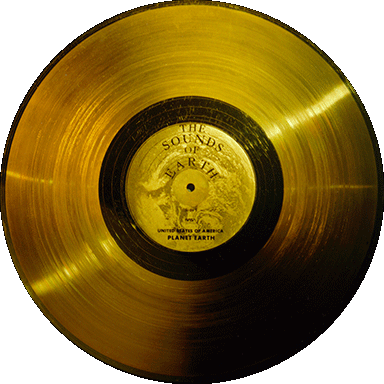 Gentes Donorte: Gold Record Png Voyager golden record.