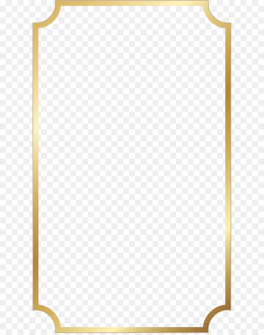 Gold Frame Png Download.