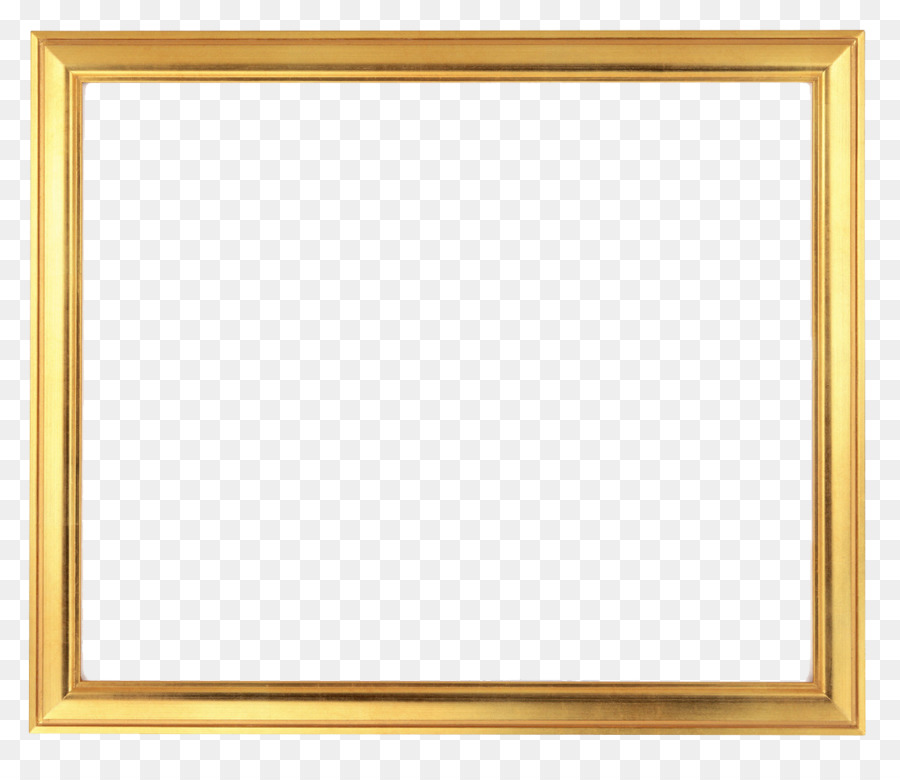 Golden Background Frame png download.
