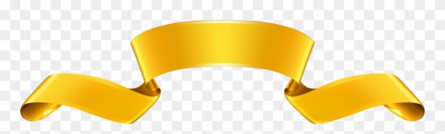 Gold Banner Clipart.