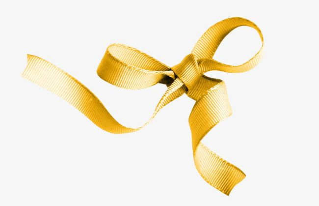 Gold Ribbon Bow PNG, Clipart, Bow, Bow Clipart, Fresh, Gift.