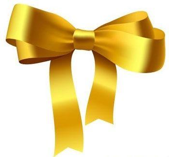 Yellow Ribbon Bow.