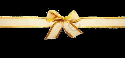 Gold Ribbon Bow, Ribbon Clipart, Bow Clipart, Bow PNG Transparent.