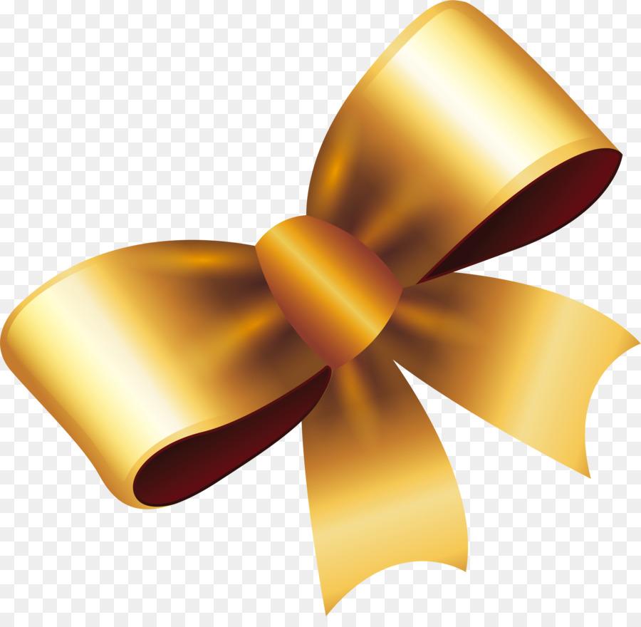 Gold Ribbon Ribbon png download.