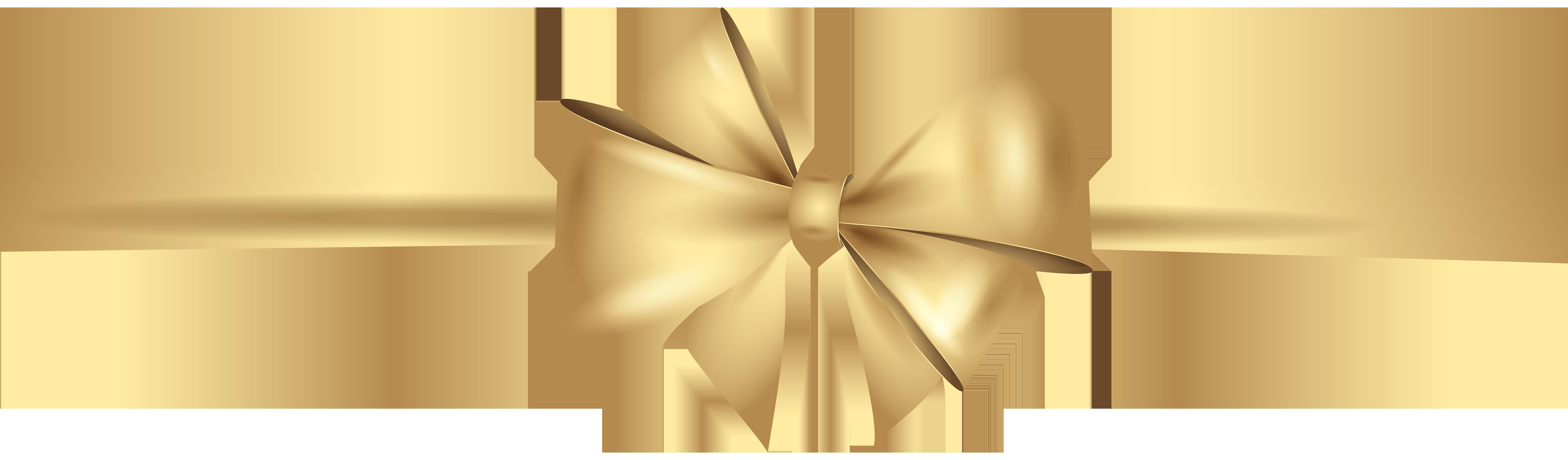 Gold Ribbon Clipart Png.