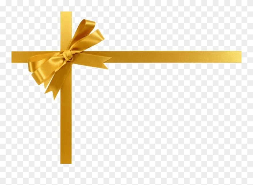 Free Png Download Gold Ribbon Png Images Background.