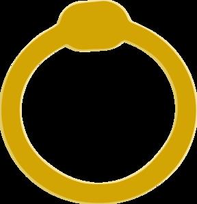 Gold Wedding Ring Clip Art at Clker.com.