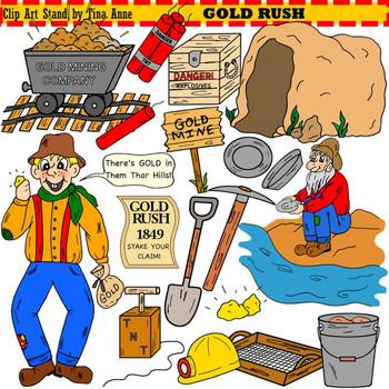 Clip Art Gold Rush.