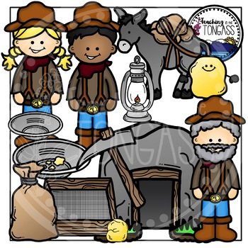 Gold Rush Mining Clipart in 2019.